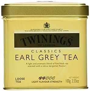 Twinings Classics Earl Grey Tea Loose Tea 3.53 oz Tin