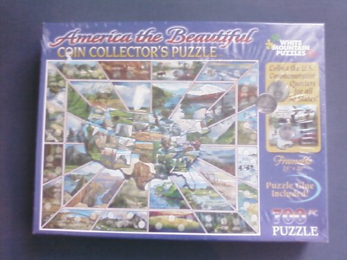 America the Beautiful Coin Collector's Puzzle