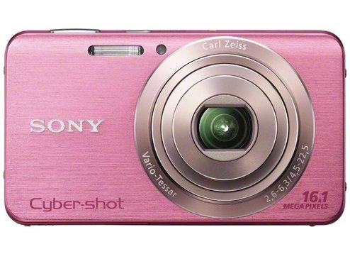 Sony DSC-W630/P 16.1MP Cybershot Digital Camera with 2.7-Inch LCD Screen (Pink)
