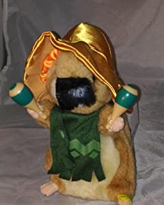 "Dancing Hamsters Mexican ""La Cucaracha"" from Gemmy"
