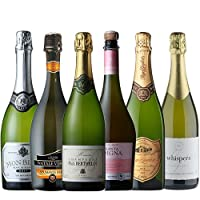 シャンパン・スパークリングワインセット 750ml×6本セット 白・泡 5本、ロゼ・泡 1本【6本ワインセット】