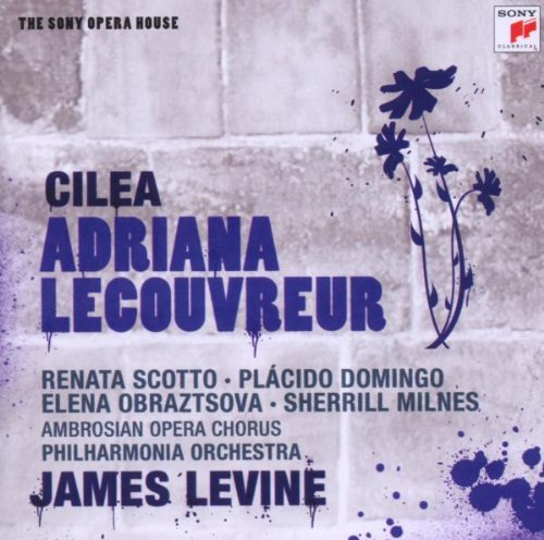 Adriana Lecouvreur (James Levine) - Francesco Cilea - CD