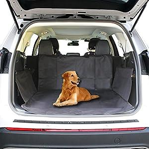 KYG ペット用ドライブシート 新型 トランクマット 多機能ノンスリップマット 犬 シートカバー ペットシート
