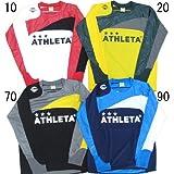 [アスレタ]ATHLETA カラープラクティスシャツ 02249 Mサイズ ブラック