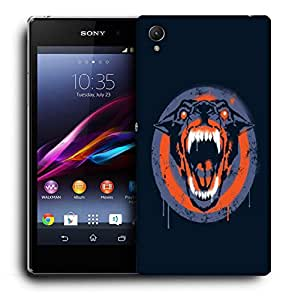 Snoogg Barking Dog Designer Protective Back Case Cover For SONY XPERIA Z1 L39H