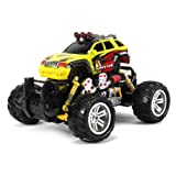 Graffiti Jeep Grand Cherokee Electric Rc Off Road Monster Truck 1:18 Scale 4 Wheel Drive Rtr, Working Hinged Spring... - B00KCUY6J4