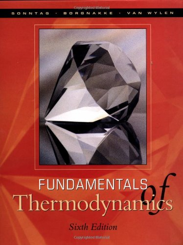 Fundamentals Of Thermodynamics front-490234