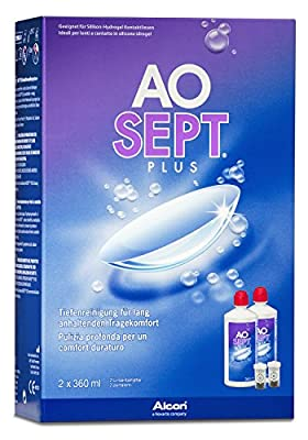 Aosept Plus Contact Lens Solution 3 Month Pack (2x 360ml)