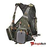 Anglatech Fly Fishing Backpack and Vest Combo