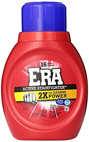 Era 2x Ultra Active Stainfighter Formula Regular Liquid Detergent 16 Loads