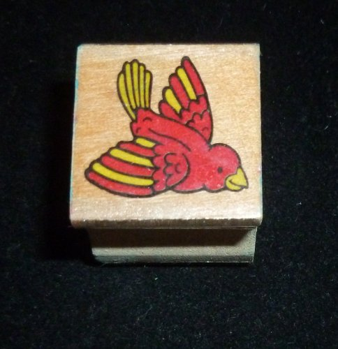 Mini Bird Rubber Stamp