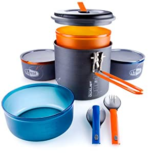 GSI Outdoors Pinnacle Dualist Cookware Set by GSI