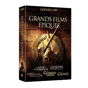 Grands films épiques : Le sang des Vikings + Legions : Les guerriers de Rome + Lord Protector + Les