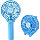 VelKro Mini Portable Foldable Rechargeable Fan Hand Multi-functional Fan Hand-grip Outdoor Fan Cooler