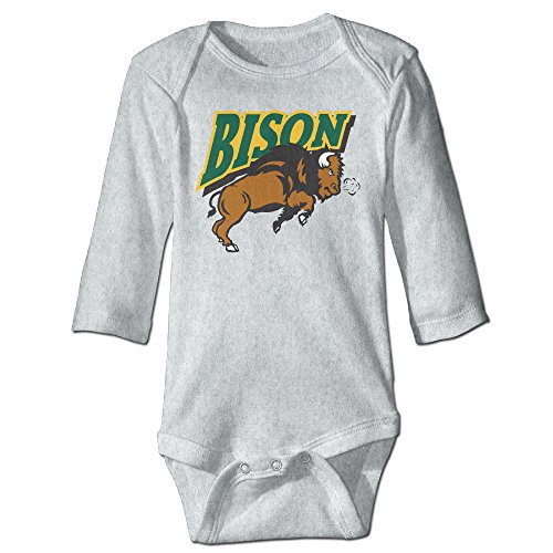 [DETED Bison Thundar Logo Funny Newborn Baby Climb Romper Size6 M Ash] (M Bison Costume)