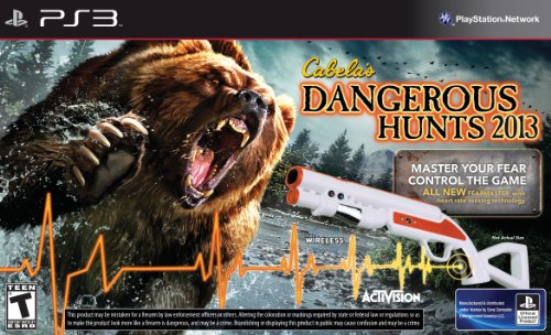 ActiVision, Inc. CABELA'S DANGEROUS HUNTS 2013 w/GUN PS3 Move - ActiVision, Inc. - 76963 at Sears.com