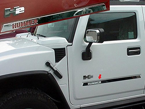 h2-2003-2009-hummer-4-pc-stainless-steel-side-molding-insert-trim-with-hummer-logo-cut-out-suv-hv430