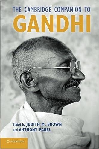 The Cambridge Companion to Gandhi