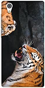 The Racoon Lean the tiger hard plastic printed back case / cover for Vivo Y51