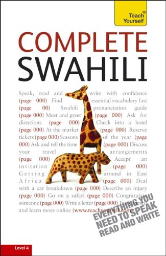 Complete Swahili: A Teach Yourself Guide (TY: Language...