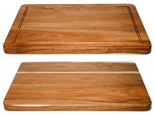 Chopping Block, Double Sided, Juice Groove Hardwood by Somarian