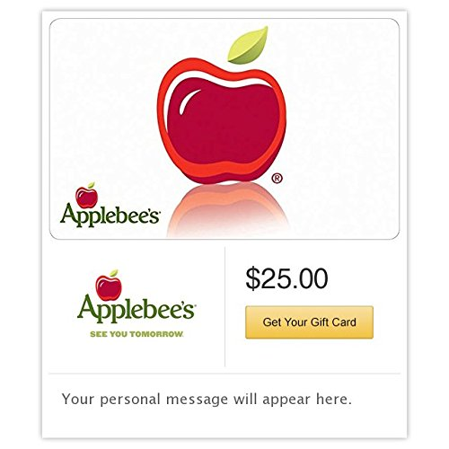 Applebee's Apple Gift Cards - E-mail Delivery (Electronic Gift Cards Restaurants compare prices)