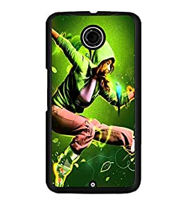 PRINTSWAG DANCING GIRL Designer Back Cover Case for MOTOROLA GOOGLE NEXUS 6