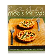 Easy Meals for Two Recipe Book