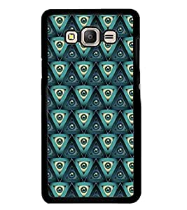 Printvisa Green Marbles Pattern Back Case Cover for Samsung Galaxy On7::Samsung Galaxy On7 G600FY