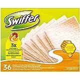 Swiffer Recharges de Lingettes Attrape-Poussières pour Surface en Bois x36 lingettes
