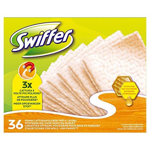 Swiffer Panni Di Ricambio Cattura Polvere Per Superfici In Legno, 1 x 36 pezzi