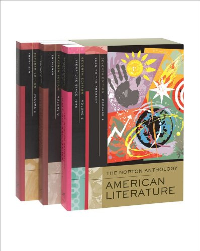 The Norton Anthology of American Literature, Package 2:...
