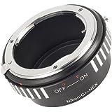 Adattatore Anello Per Nikon AI AF G lente Obiettivo a Fujifilm Fuji X Mount X-Pro1 Camera DC294