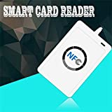 Banggood 1 Set Professional USB ACR122U NFC RFID Smart Card Reader Writer For All 4 Types Of NFC (ISO/IEC18092...