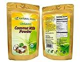 Coconut Milk Powder - 100% USDA Certified Organic (1 lb)