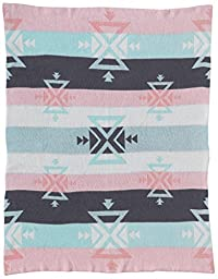 Lolli Living Sparrow Knitted Cotton Blanket, Aztec
