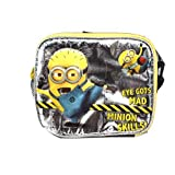 Blue And Yellow Despicable Me Mad Minion Skills Lunch Bag
