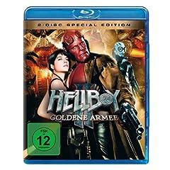 Hellboy II: Die goldene Armee [Blu-ray] (inkl. Bonus-DVD)