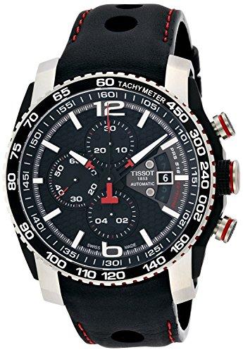 Tissot Herren-Armbanduhr Chronograph Automatik Leder T079.427.26.057.00