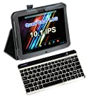 vitalASC 10.1IPS Quad Core 1.6Ghz 32GB Flash Cameras Tablet PC Android 4.2 w/Portable Bluetooth Keyboard bundle