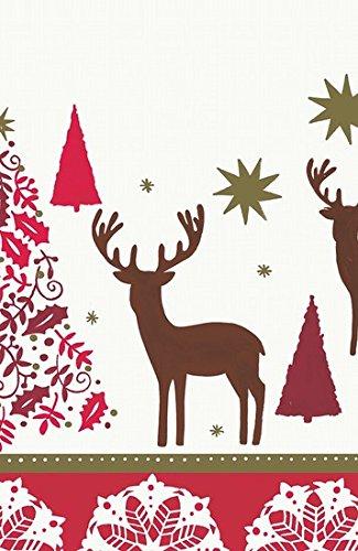 Duni Tischdecke aus Dunicel 138 x 220 cm Deers & Lace