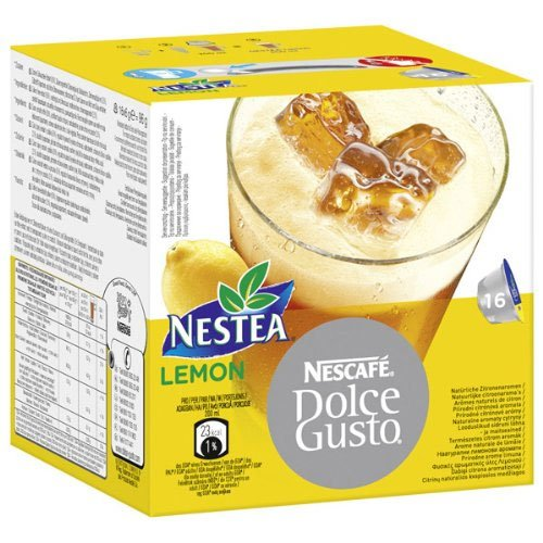 Order Nescafé Dolce Gusto Nestea Lemon, Pack of 3, 3 x 16 Capsules by Nestlé