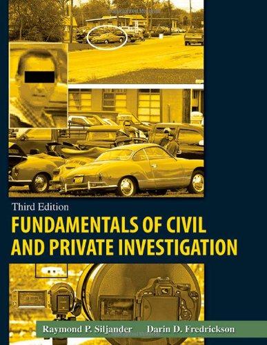 Fundamentals Of Civil And Private Investigation