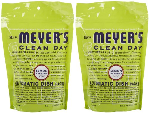 Mrs. Meyer's Clean Day Automatic Dishwashing Packs - 12.7 oz - Lemon Verbena - 2 pk (Meyers Dishwasher Packs compare prices)