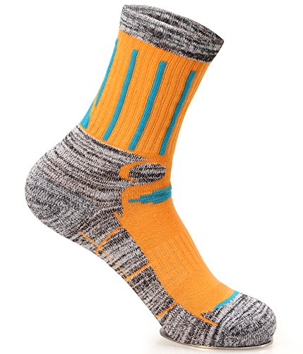 Kalily outdoor crew cushioned socks for women pack of 3 for Craft hobbies for women