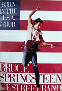 Bruce Springsteen Born In The Usa Tour 25X35 Poster
