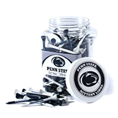 Brand New Penn State University Nittany Lions 175 imprinted Tee Jar by Things for You