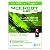 Webroot SecureAnywhere Internet Security Complete - 5 Device Sep 13, 2013