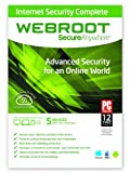 Webroot SecureAnywhere Internet Security Complete - 5 Device
