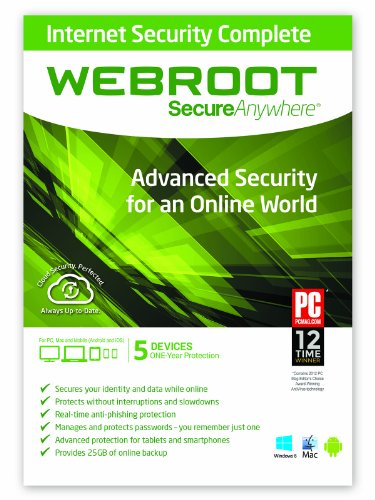 Internet Security Complete 2015 - 1 Year 5 Device